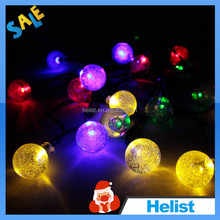 CE & ROHS long time solar low power led christmas tree light