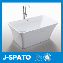 2015 Best Sale Healthy Large All-Round Square Acrylic Walk In Bathtub JS-6820