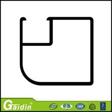mini size Round solar panel aluminum frame profile with corner key connection