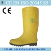 CE standard china pvc rain boots with steel toe and steel plate