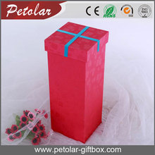 cube colorful wine bottle gift box