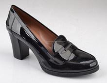 new comfort wear women shoes 2015 with block heel