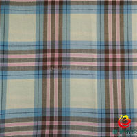 yarn dyed blue and white stripe fabric in china
