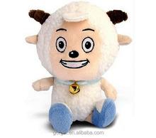 Customed OEM Pleasant Goat And Grey Wolf Cartoon Dolls