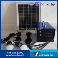 10W Portable DC Solar Home Lighting System with mobile charging function(SD-10W)