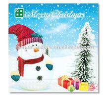fiocco di neve colorato stampato ingrosso tovaglioli di carta di natale