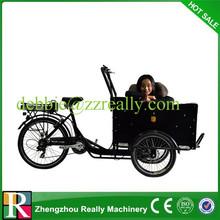 Backward Rickshaw Tricycle electric cargo bike for sale