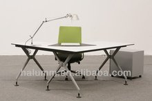 modern desk, Office L-type 1 person desk (xox series L type desk)