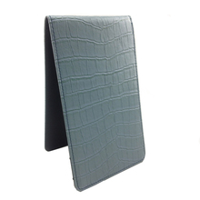 pu leather golf score card cover with emboss logo