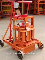 Small manual mud clay interlocking egg laying concrete press brick block making machine price for sale
