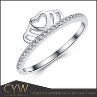 CYW list of manufacturing company, 925 sterling silver ring crown jewelry