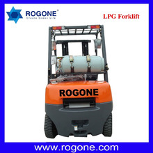 2.5ton Warehouse Equipment Material Handing Hydraulic Lifter or Forklift Trucks Price with Impco LPG System Nissan Engines for