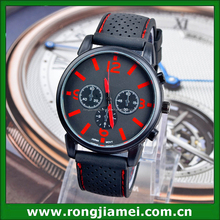 New Fashion Sports Wrist Watch Mens Watches Quartz Steel Analog Silicone Strap