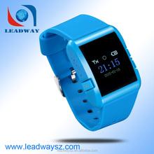 Mini personal gps watch tracker/ tracking wtih two way communication