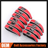 Wholesale PVC Window Mesh Iron Golf Headcover 10 PCS / Set (3 Color)