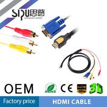 SIPU Low price rca cable vga rca pin out vga rca to hdmi