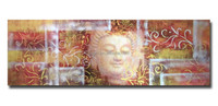 Modern Art Buddha Face Abstract Wall Decor Painting