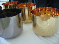 Golden Treatment crystal singing bowle CGB-098