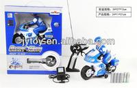 ROTATING RC MOTORCYCLE WITH MUSIC AND LIGHT