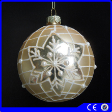 christmas novelty products arts and crafts white pearl christmas glass ball ornaments christmas tree decorated