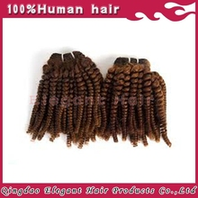 Stock small MOQ virgin human curly hair weave wholesale Brazilian hair