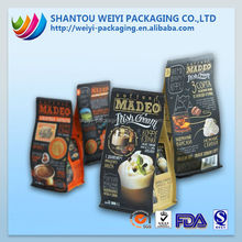 aluminum stand up pouch/retort pouch fresh meat packaging/food retort pouch