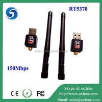 Ralink RTL5370 150Mbps wireless network card for ipad usb wifi adapter