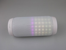 AEC Brand 2015 new car pulse led speaker bluetooth 3.0+fm radio+tf card slot