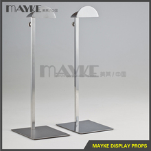 Fashionable Steel bag display stand, adjustable bag display, handbag display stand