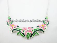 yn6992 moda caliente venta personalizada de plata fina joyería de esmalte
