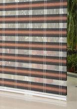 YUMA stripe rainbow blind fabric