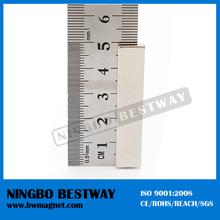 High surface gauss L5mm magnet block shape