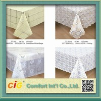 Wholesale Printed Plastic PVC Table Cloth