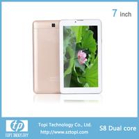 S8 Cheap Daul SIM Card Phone Tablet PC 0.3MP 2.0MP Dual Camera Tablet PC