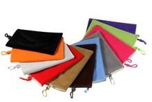 """Universal 5"""" Phone Velvet Pouch Fabric Sleeve Holder Common Case General Socks"""
