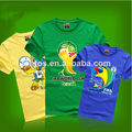 Brasil 2014 copa mundial de fútbol t- shirt