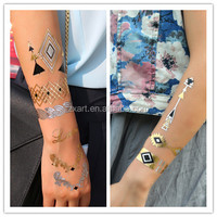 Temporary Tattoo Sticker Tapes with Assorted Patterns, Different Designs and Shapes are Available