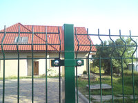 low Price PVC coated security fence