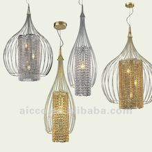 hot sell classic crystal single hanging ceiling pendant