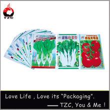 Agricultural seed packaging bag vegetable seeds bag