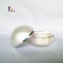 highly qualtiy cosmetic pankaging 30ml ball eye cream jar 10oz mason jars