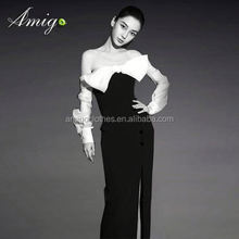 woman knee-length dress fashion resort wear manufacturers