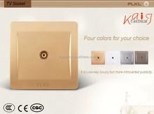TV socket for Middle east, Asia market