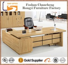 Hot selling new design MDF office executive table models