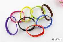 The new 2015 color I love you more letters design ladies elastic hair band