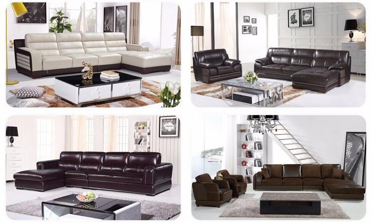 moderno al por mayor hotel de cuero en forma de l sof juego de muebles
