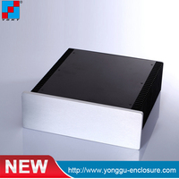 Custom Extruded Aluminum Enclosure For Electronics rf high power amplifier