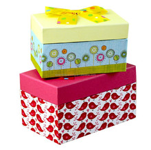 Paper shoe box design for packing children shoes