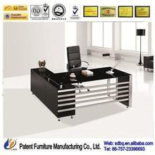 2014 hot sale modern glass desk office furniture,used modern office furniture,direct from china furniture PT-D061