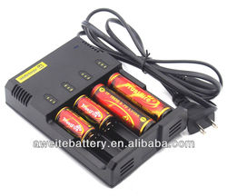 Nitecore I4 battery charger Intellicharge battery charger Most of Li-Ion Ni-Cd Ni-MH 4-Channel Smart Battery Charger
